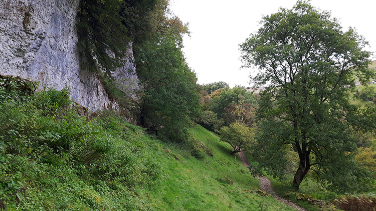 Kisdon Side Cliff