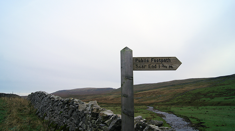 Pointing the way from Kingsdale