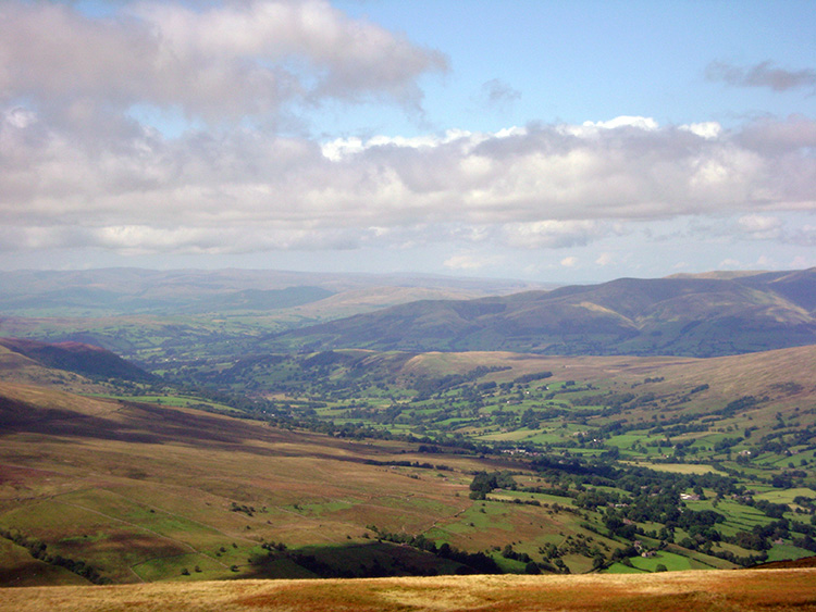 Dent Dale and the Howgill Fells