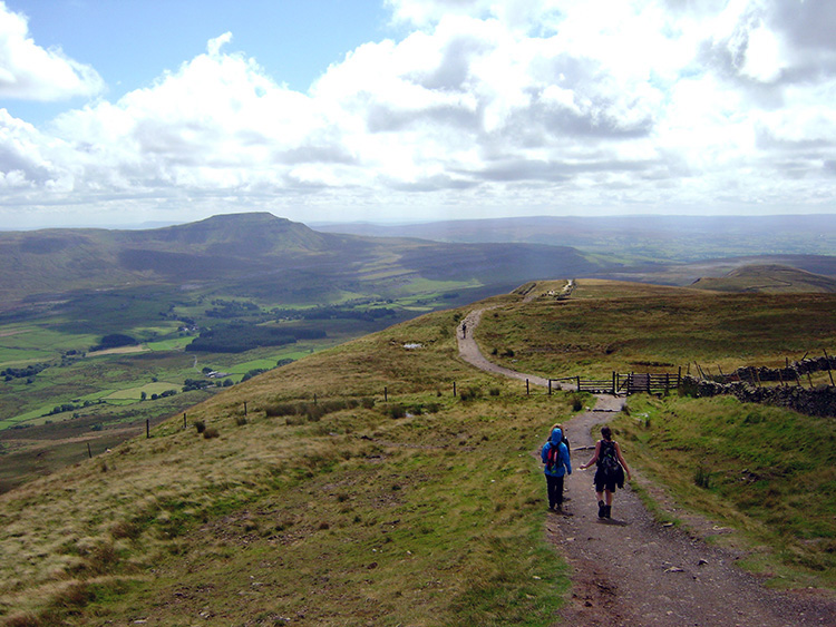 Descending to High Pike