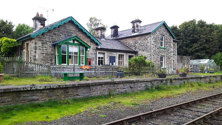 Wensley Railway Station