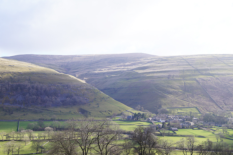 View to Buckden and Buckden Pike