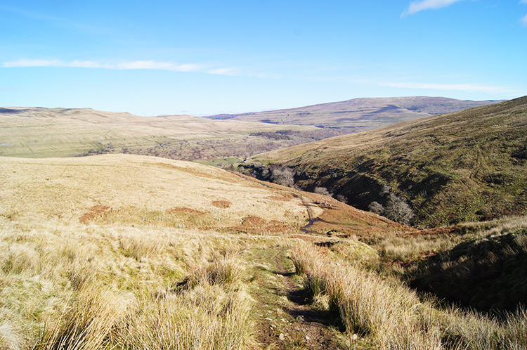 Descending to Hagg Beck