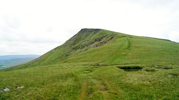 Climbing to the Nab on Wild Boar Fell