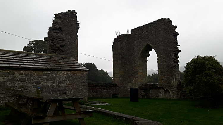 Remains of Marrick Priory