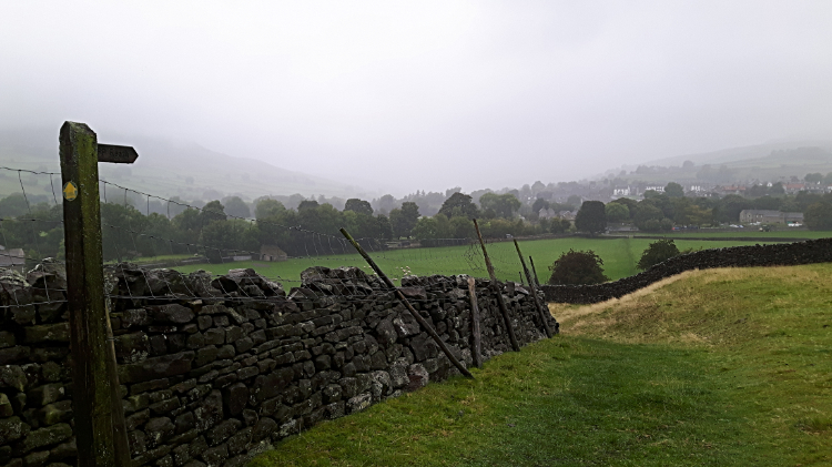 The way from High Fremington to Reeth