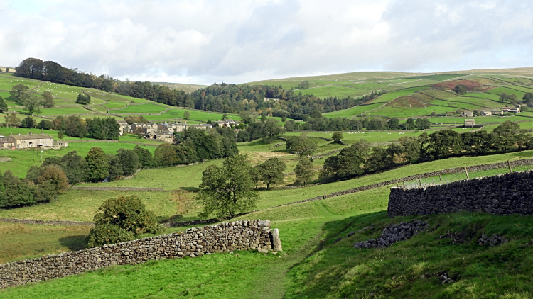 The view from Howgill Lane to Skyreholme