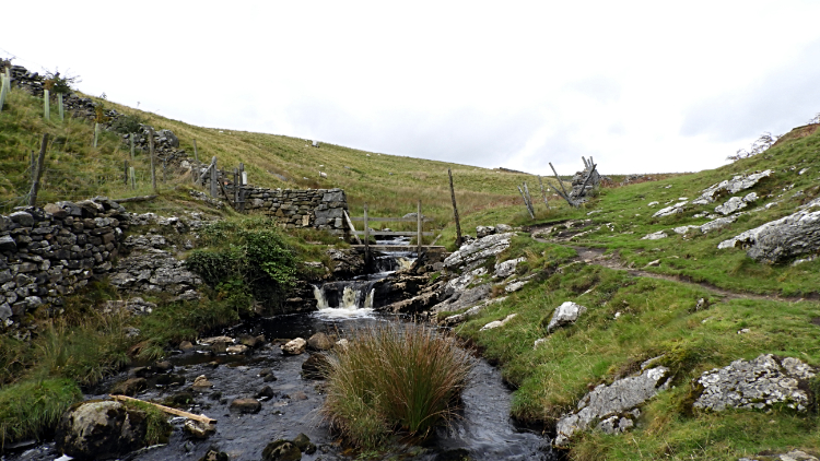 Skyreholme Beck at Middle Hill