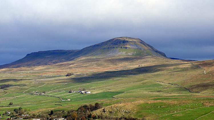 View of Pen-y-ghent from Smearsett Scar