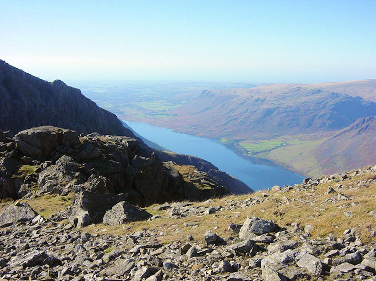 View of Wast Water from Pulpit Rock