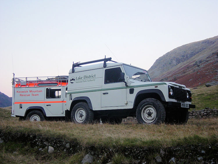 Keswick Mountain Rescue and Lake District National Park Authority