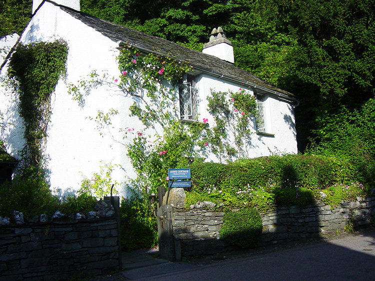 Dove Cottage is nearby