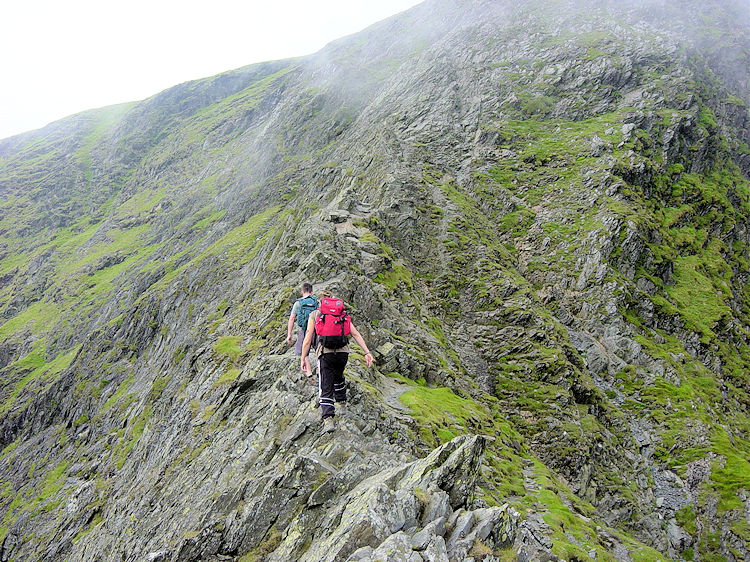 Reaching Foule Crag