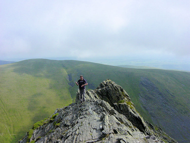 Juggling act on Sharp Edge