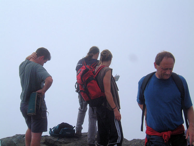 On Blencathra summit