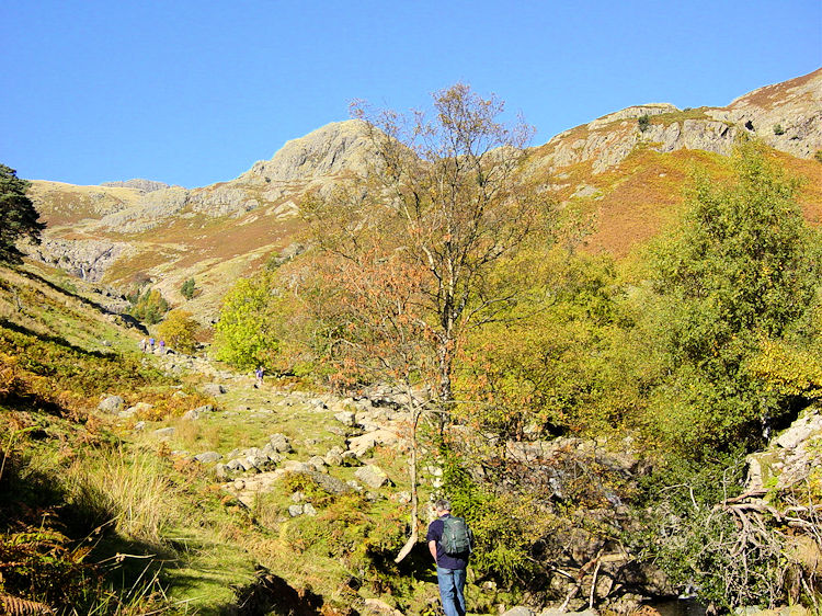 Setting out on the walk up Stickle Ghyll