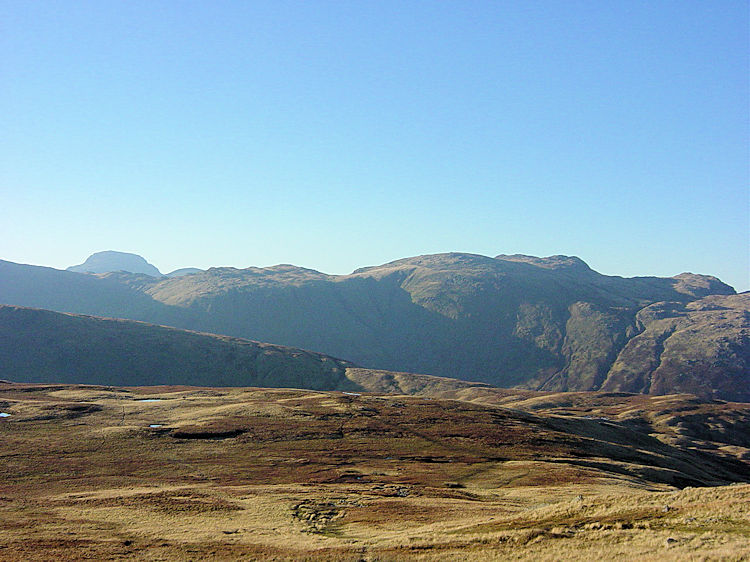 The fells near Thunacar Knott