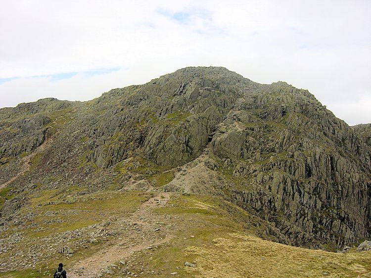 Long Top is the second Crinkle Crag on this traverse