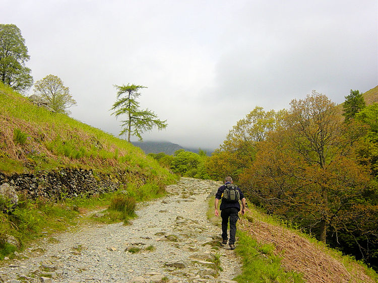 Walking from Coniston to Miner's Bridge