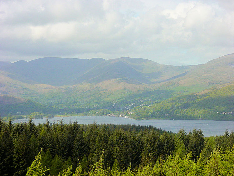 The view across Windermere from High Blind How