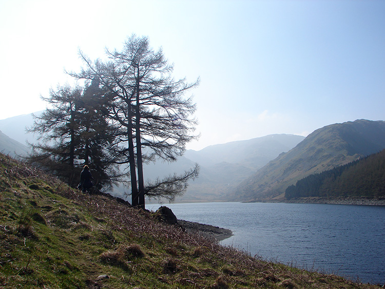 Haweswater reservoir track