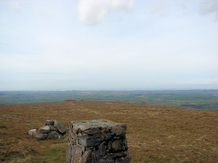 The summit of Fellbarrow