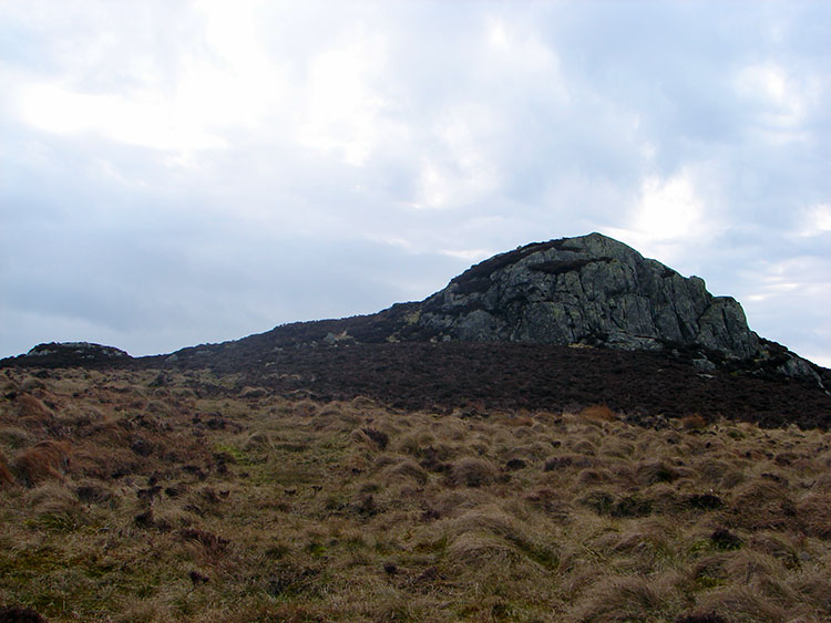 The rocky outcrop on Armboth Fell