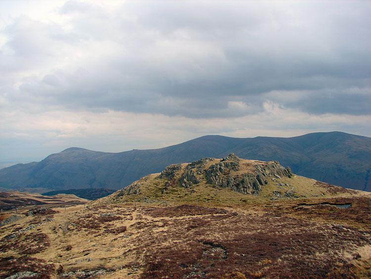 The Eastern Fells as seen from High Seat