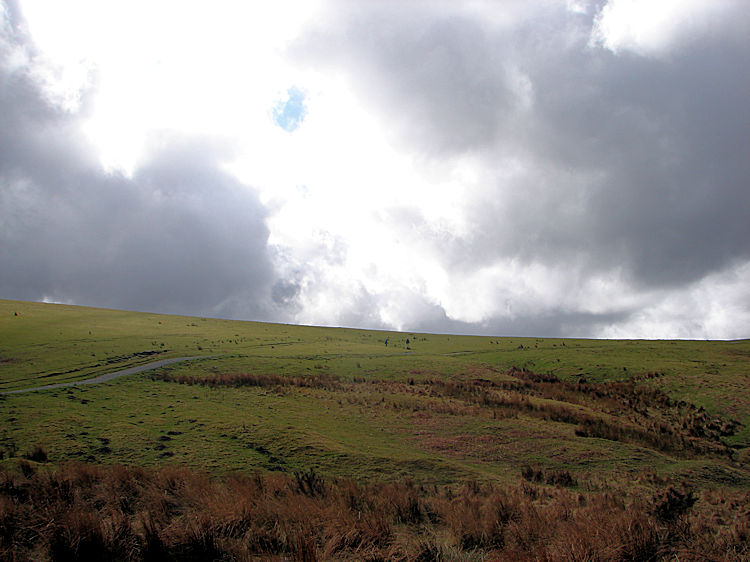 View of Latrigg from the car park