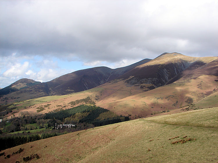 The Skiddaw range