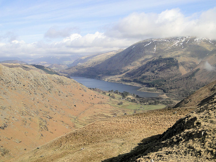 Thirlmere seen from Steel Fell