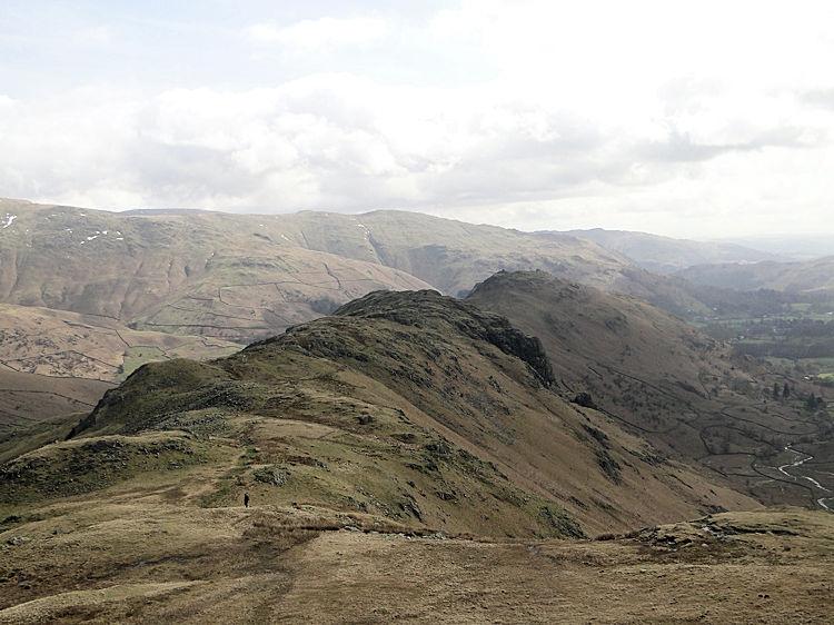 The long ridge to Helm Crag