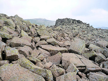 The Scafell Landscape - pretty unforgiving