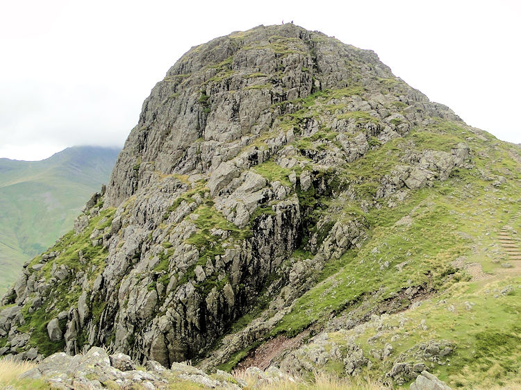 The awesome cone of Pike of Stickle
