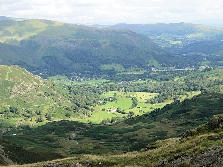 The Vale of Grasmere from Tarn Crag