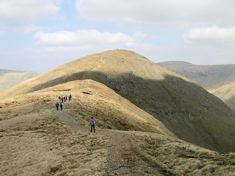 Following the ridge from Yoke to Ill Bell