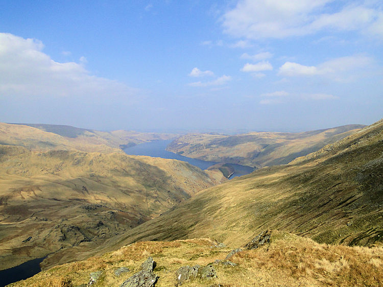 Haweswater as seen from Harter Fell