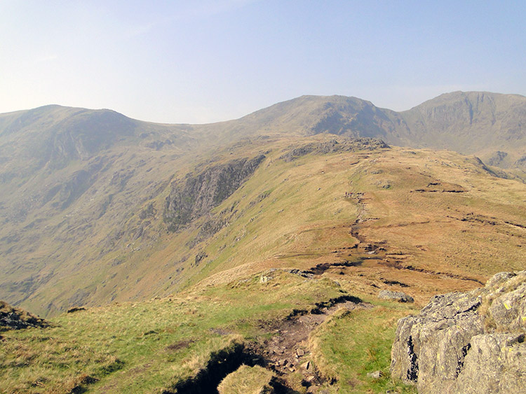 Beyond Hartsop above How toward the Crag Fells
