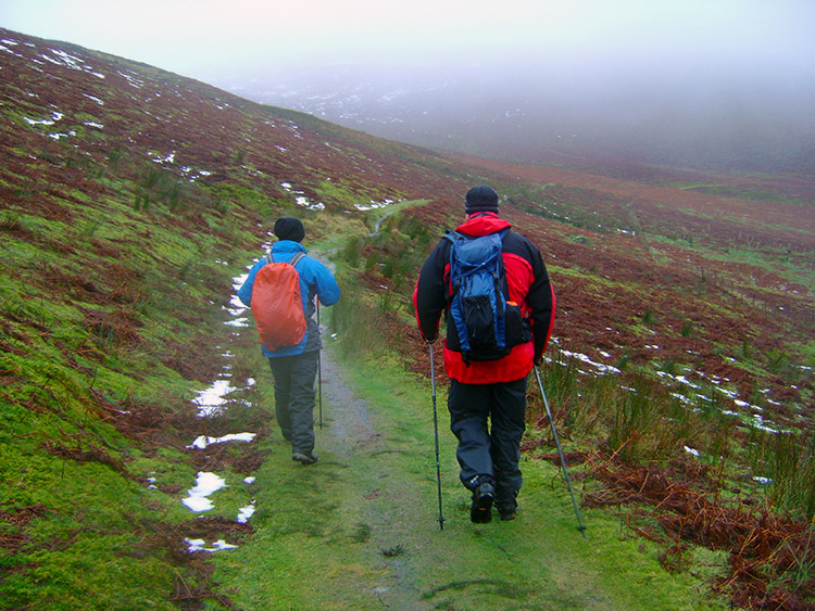 John and Tim descend to better conditions
