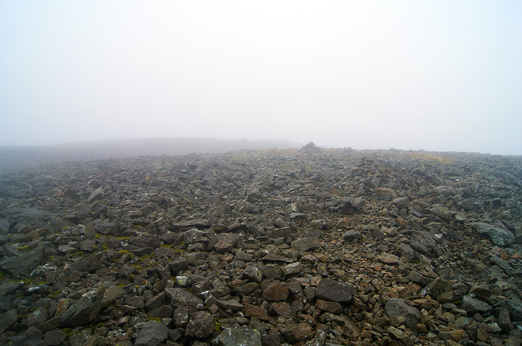 The summit of Kirk Fell