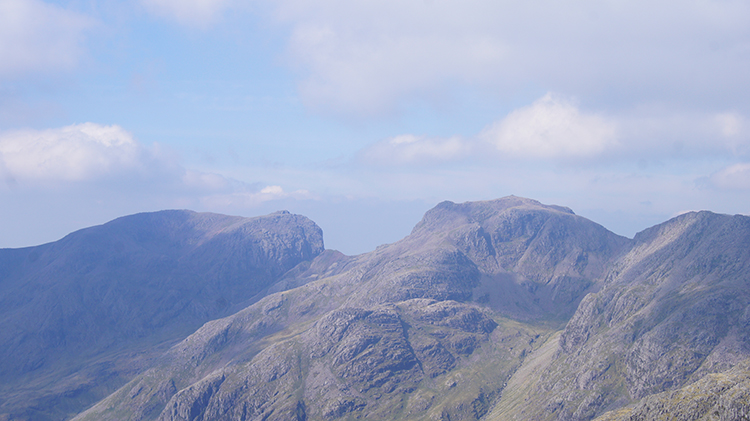 Scafell, Scafell Pike and Ill Crag