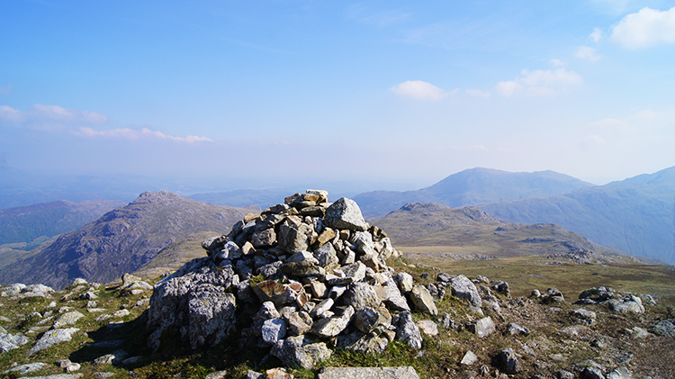 Cairn on Crinkle Crags
