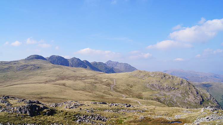 Crinkle Crags and Great Knott