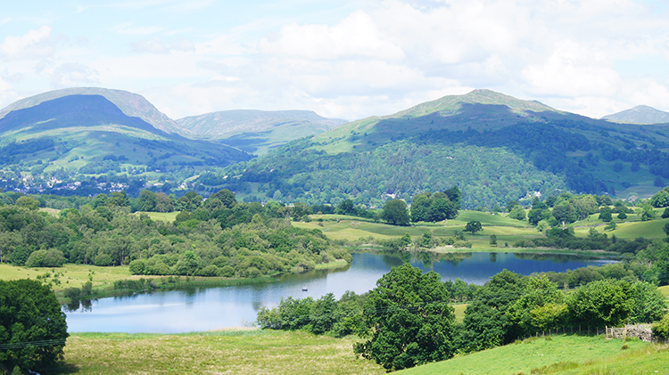 Blelham Tarn, Ambleside and Wansfell