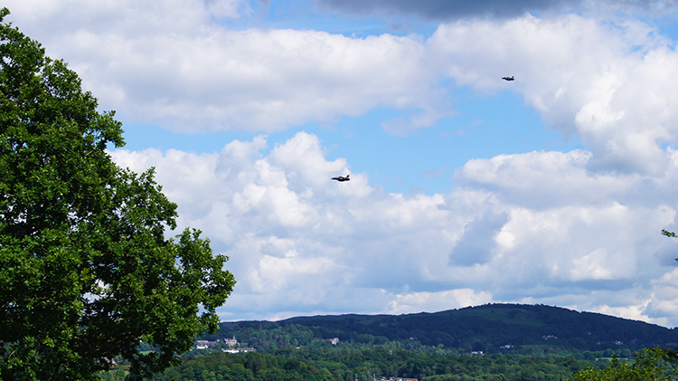 Jets roar over Windermere