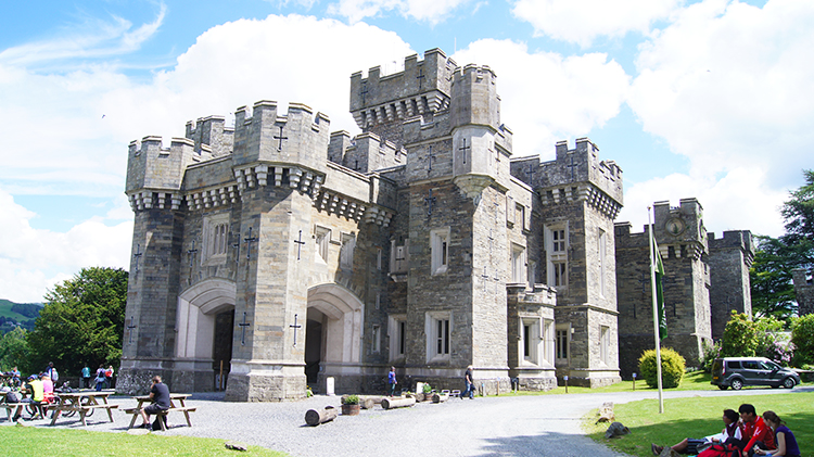 Wray Castle, west side