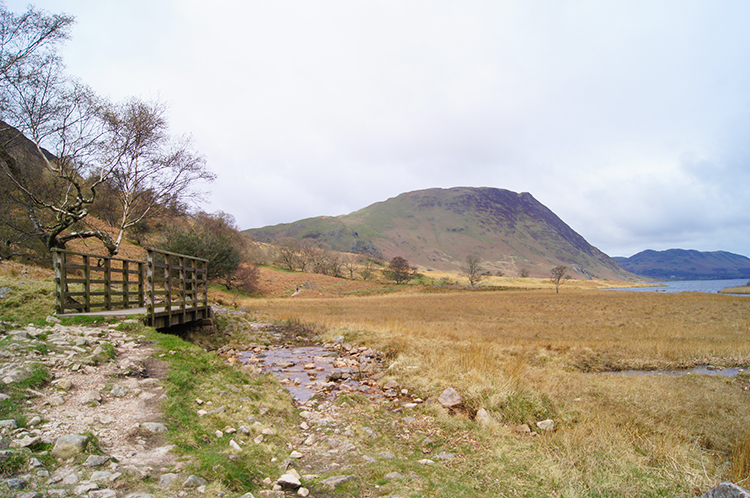 On the path to Crummock Water