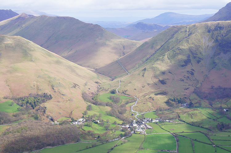 View to Buttermere, Ard Crags and Robinson