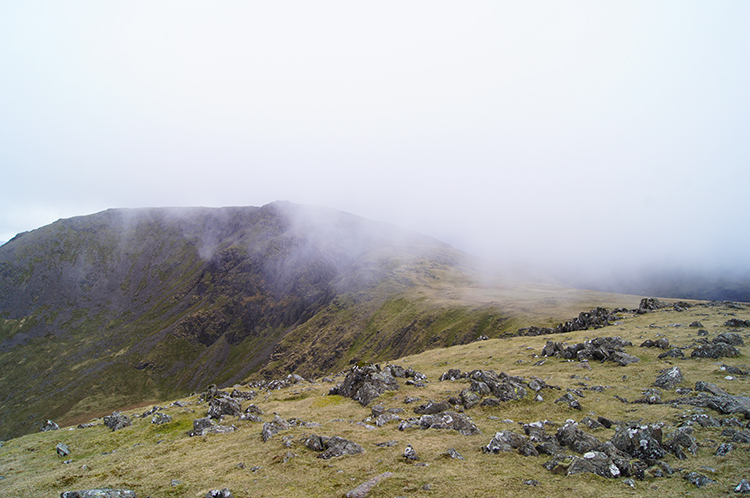 Cloud streams over High Stile