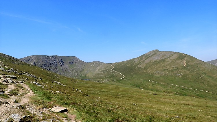 Helvellyn, Swirral Edge and Catstye Cam